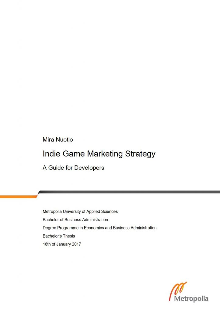 indiegamemarketingstrategy