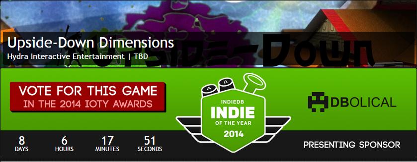indiedb upsidedown awards
