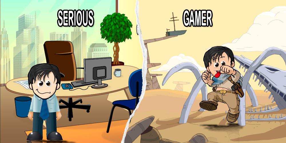 dparente serious gamer