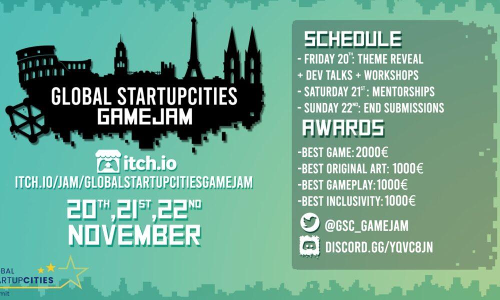 Global Startup CIties GAME JAM