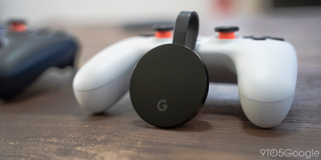 Chromecast Ultra game mode reduces Stadia latency