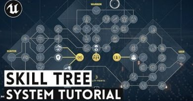 How To Create a Skill Tree System (UE4 Tutorial) : gamedev