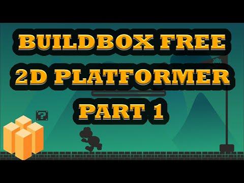 Buildbox Free - How To Make 2D Platformer Game [PART 1]